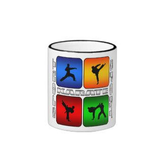 Karate espectacular taza de dos colores
