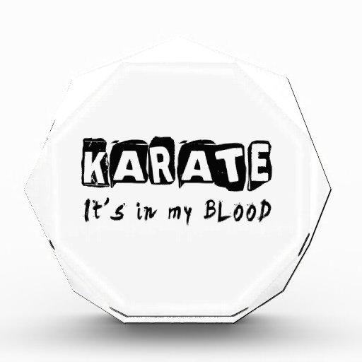 Karate está en mi sangre