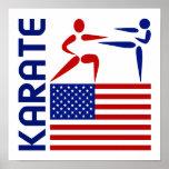 Karate Estados Unidos Poster