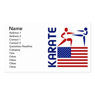 Karate Estados Unidos Tarjetas De Visita