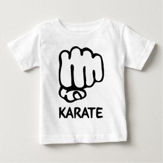 karate fist icon baby T-Shirt