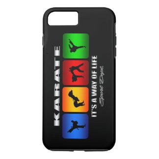 Karate fresco es una manera de vida funda iPhone 7 plus