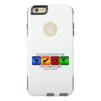 Karate fresco es una manera de vida funda otterbox para iPhone 6/6s plus