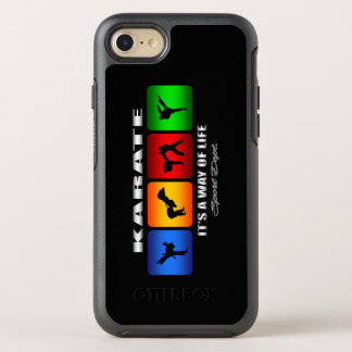 Karate fresco es una manera de vida funda OtterBox symmetry para iPhone 7