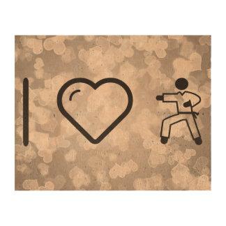 Karate fresco papel de corcho para fotos