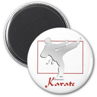 KARATE FRIDGE MAGNET