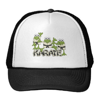 Karate Frogs Tshirts and Gifts Trucker Hat