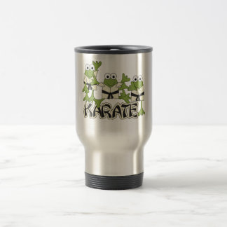 Karate Frogs Tshirts and Gifts 15 Oz Stainless Steel Travel Mug