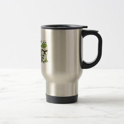 Karate Frogs Tshirts and Gifts Coffee Mug