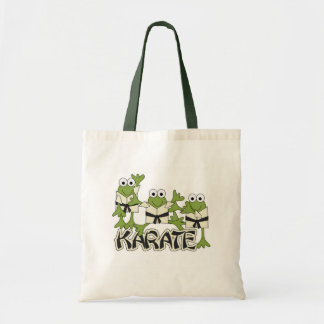 Karate Frogs Tshirts and Gifts Tote Bag