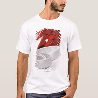 Karate gi and sparring headgear T-Shirt