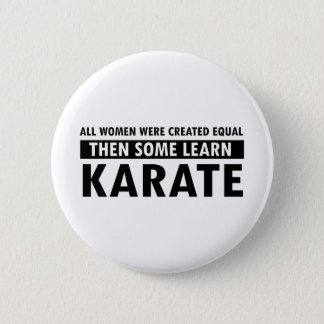 Karate gift items button
