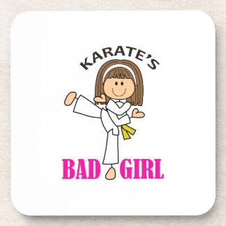 KARATE GIRL DRINK COASTERS