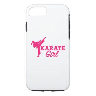 Karate girl iPhone 8/7 case