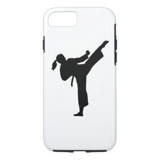 Karate girl woman iPhone 8/7 case