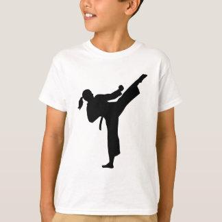 Karate girl woman T-Shirt