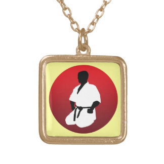 KARATE GOLD PLATED NECKLACE