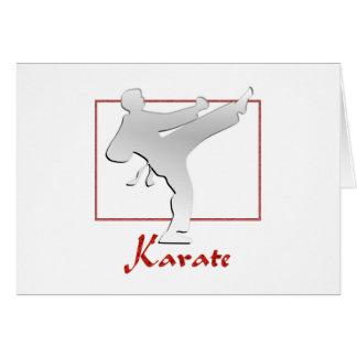 KARATE GREETING CARDS