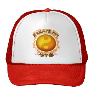 Karate-hace el gorra de Yin/de Yang Sun