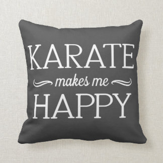 Karate Happy Pillow - Assorted Styles & Colors