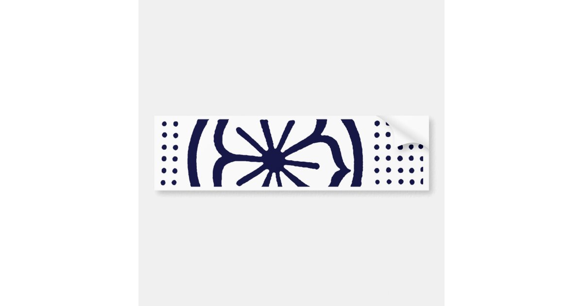 Karate Headband Bumper Sticker | Zazzle.com