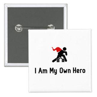 Karate Hero Button