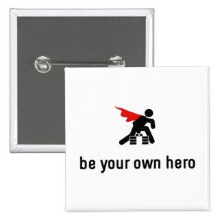 Karate Hero Pinback Button