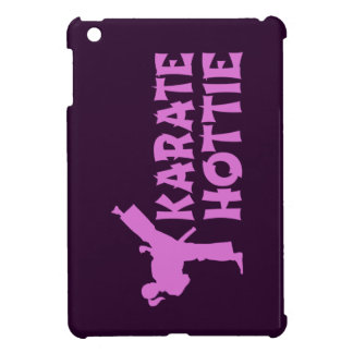 Karate Hottie iPad case - female martial artist