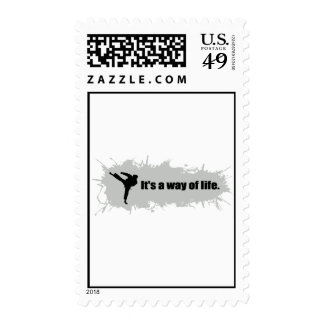 Karate is a Way of Life Postage