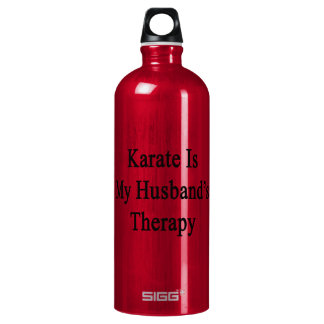Karate Is My Husband's Therapy SIGG Traveler 1.0L Water Bottle
