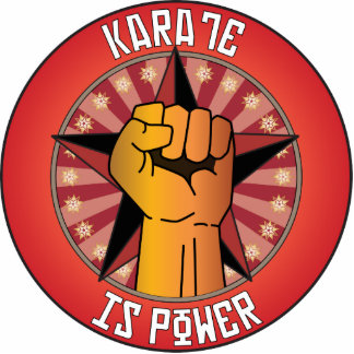 Karate Is Power Acrylic Cut Out
