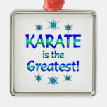 Karate is the Greatest Christmas Tree Ornaments