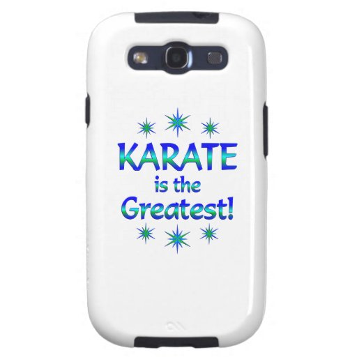 Karate is the Greatest Galaxy SIII Cases