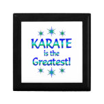 Karate is the Greatest Trinket Boxes