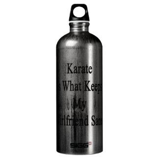 Karate Is What Keeps My Girlfriend Sane SIGG Traveler 1.0L Water Bottle