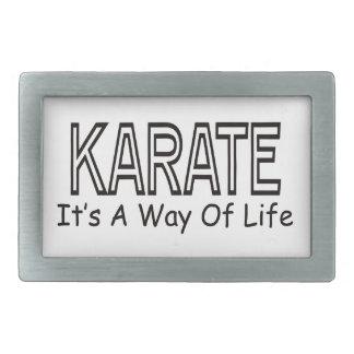 Karate It s A Way Of Life Belt Buckles