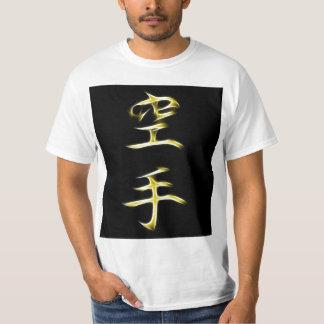 Karate Japanese Kanji Calligraphy Symbol Tee Shirt