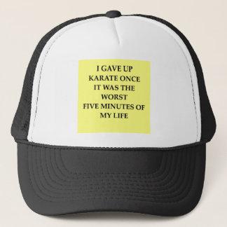 KARATE.jpg Trucker Hat