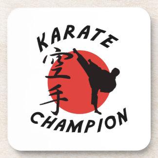 Karate Karate Champion Beverage Coasters