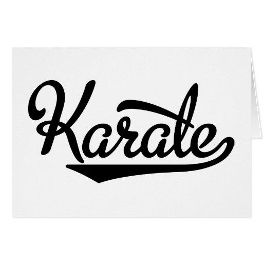 Karate Karten