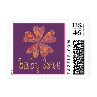 Karate Kat baby love stamp