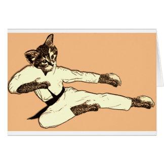 Karate Kat Card