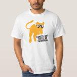 Karate KAT (cat) takes no prisoners T-shirts