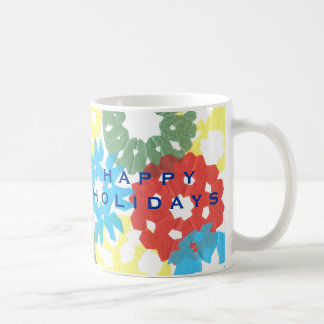 Karate Kat color flurry--to personalize Coffee Mug
