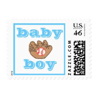 Karate Kat Graphics baby boy stamp