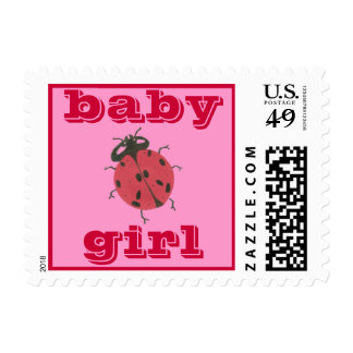 Karate Kat Graphics baby girl stamp
