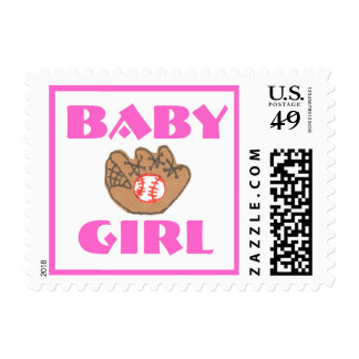Karate Kat Graphics baby girl stamp