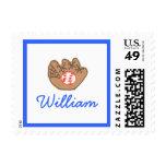 Karate Kat Graphics baseball stamp--to personalize Stamp
