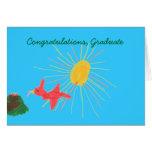 Karate Kat Graphics graduation card
