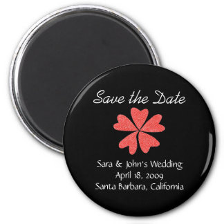 Karate Kat Graphics wedding save-the-date Refrigerator Magnets